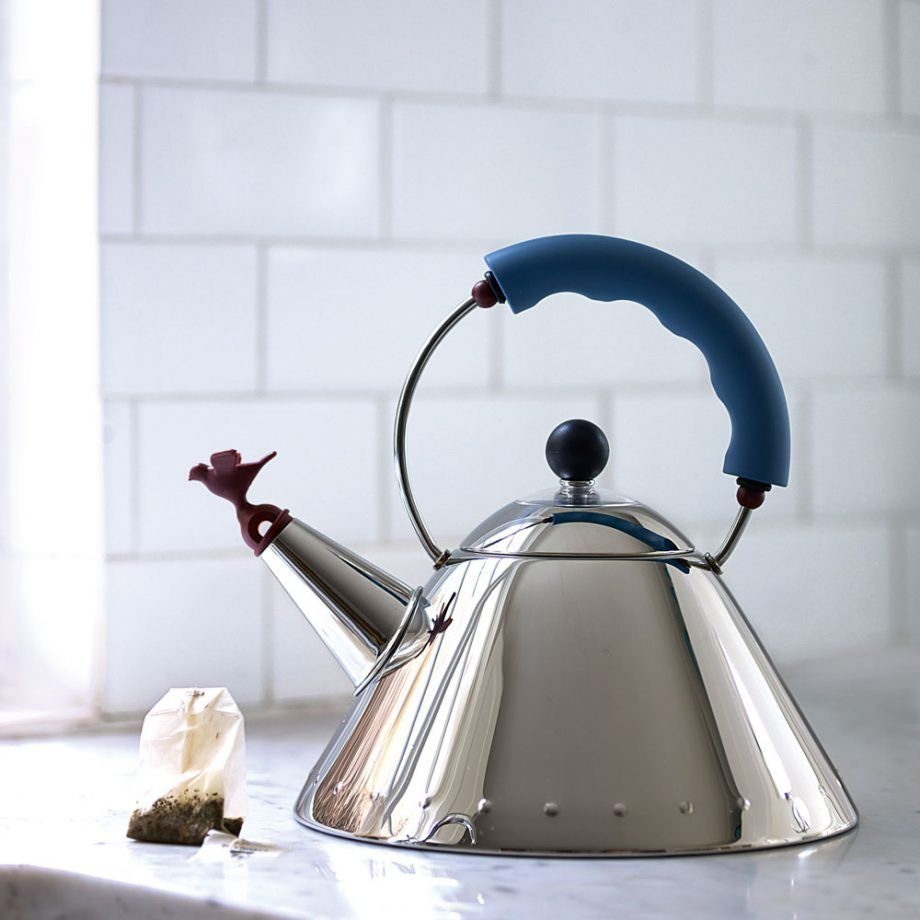 ALESSI Stainless steel kettle 2l