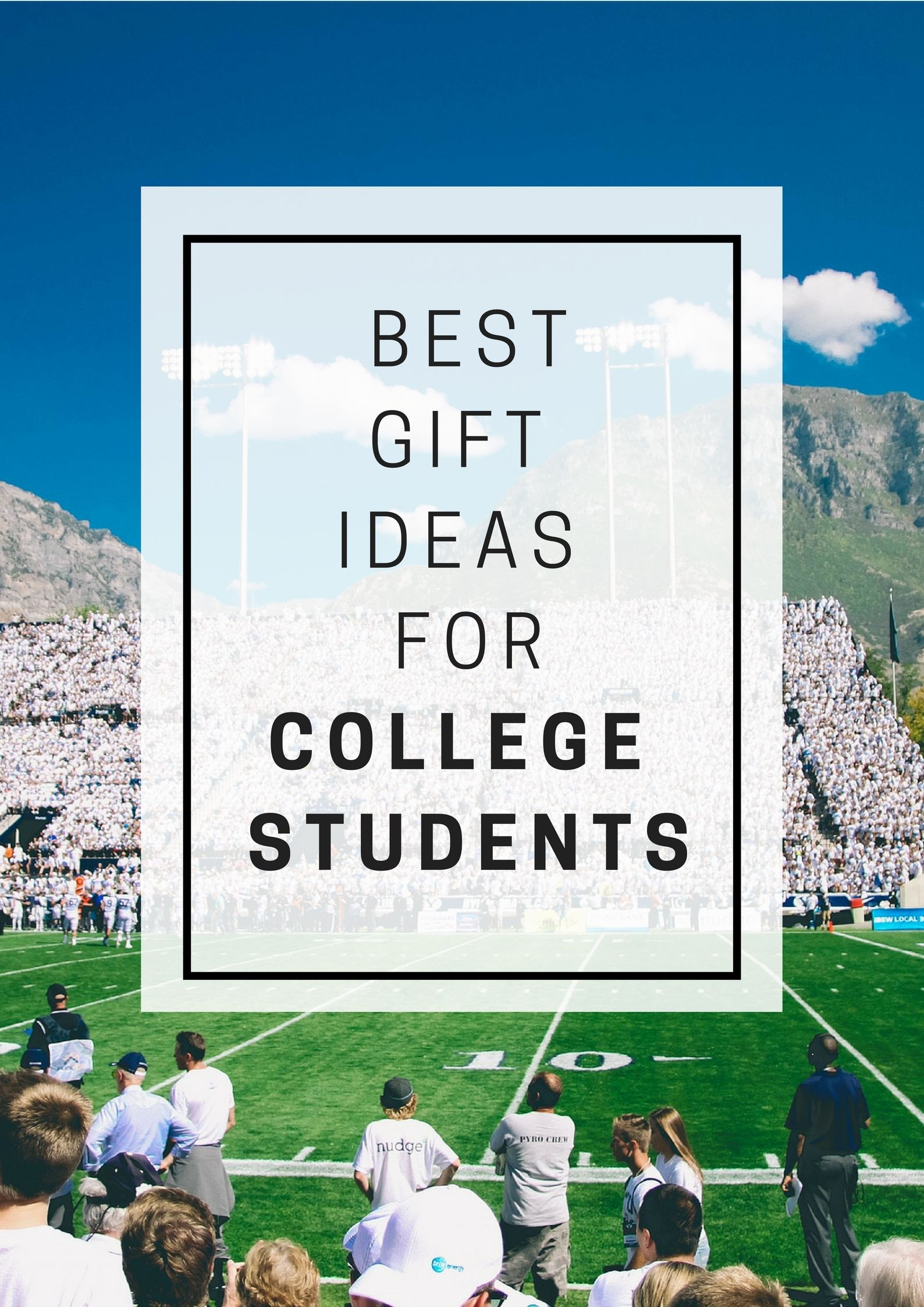 Best Gift List Of Ideas For College Students From Electronics And Sports Gifts To Favorite Snacks Care Packages