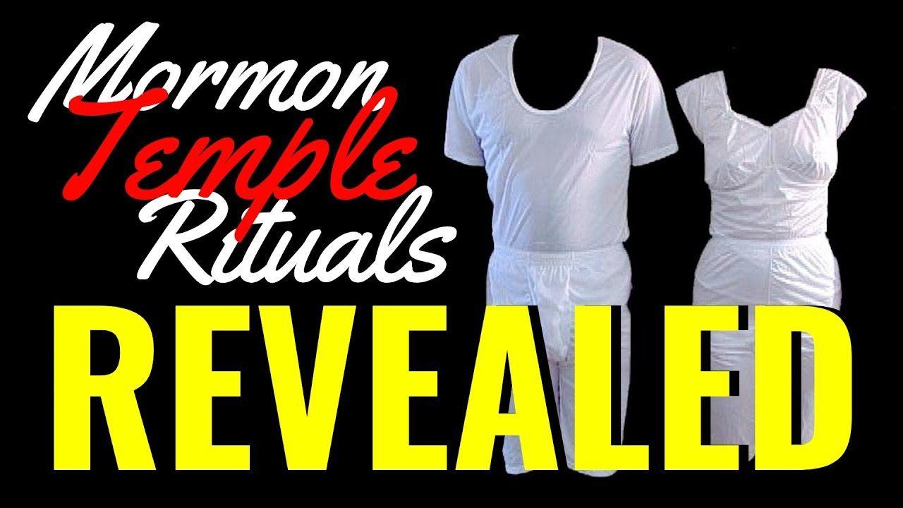 Secret Mormon Temple Rituals Revealed! Mormon temples