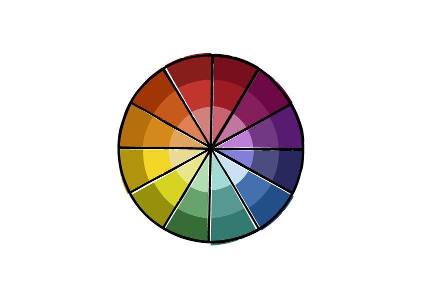 Color Wheel Vervolg 2 Kleur Pinterest Color Wheels