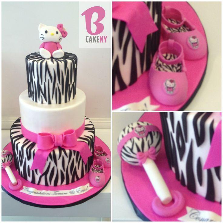 Hello Kitty Baby Shower Cake! | Babyshower Games And Ideas | Pinterest