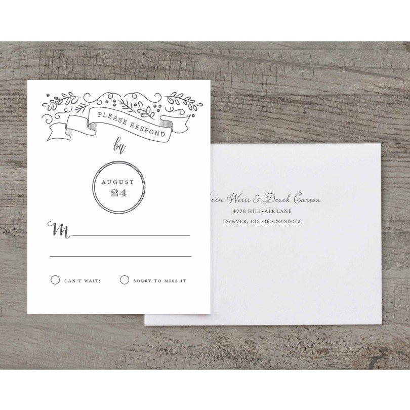 Personalised Wedding Stationery Wedding Invitations Rsvp Wedding Invitation Kits