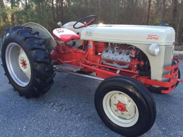 1946 8n Ford Tractor : Plus mph flathead v swapped ford n tractor