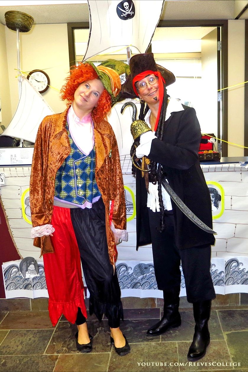 Halloween Party Costumes at the Reeves College Edmonton City ...
