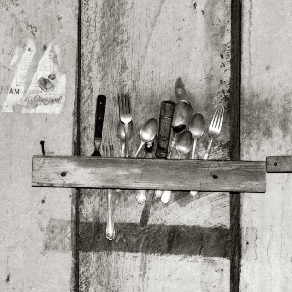 """Walker Evans, """"Kitchen Wall,"""" 1936 (detail)"""