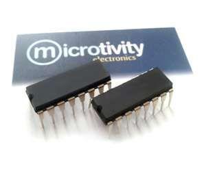microtivity: Pack of 2 ULN2003 High-voltage High-current Darlington Transistor Array ICs
