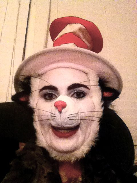 Cat in the Hat   Stage Make-up & Costumes   Pinterest   Costumes ...