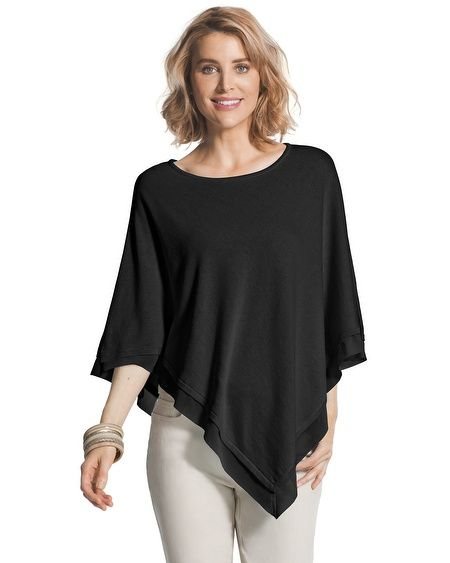 Charlotte Triangle Poncho in 2019   Style   Poncho pattern sewing