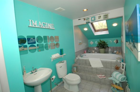 Caribbean Bathroom Design Ideas ~ Caribbean bathroom theme beach themed designs