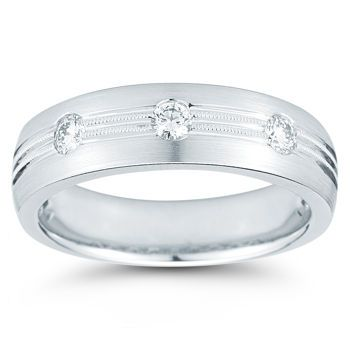 costco mens diamond ring 028ctw 14kt white gold