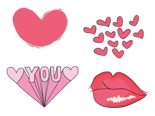 17 best images about valentines day stickers bypicsart on - Valentines Day Stickers