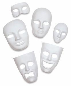 Creativity Street Plastic Face Masks - BLICK art materials