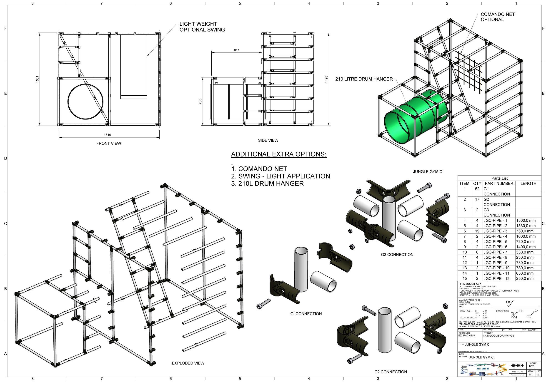 Diy Wood Jungle Gym Plans Free Pdf Download In 2020 Gym Plans Jungle Gym Wood Diy