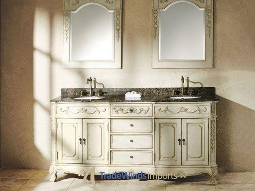 French Style Bathroom Sinks