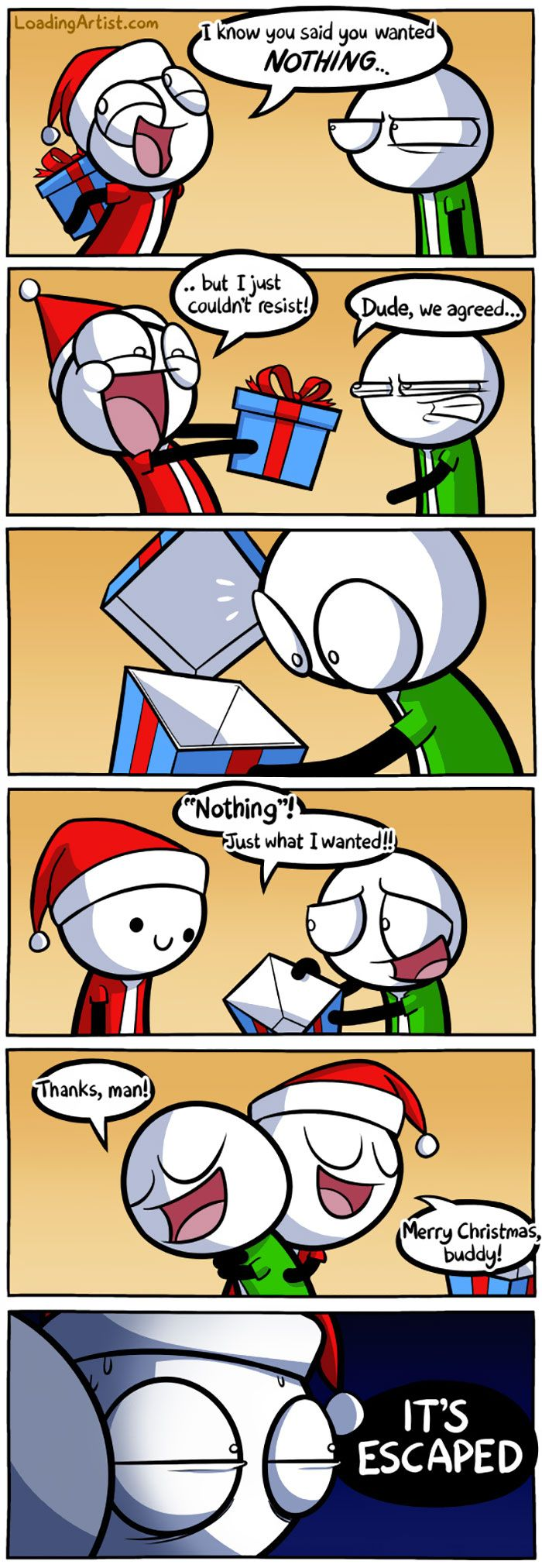 125 Of The Funniest Christmas Comics Ever