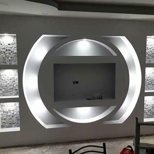 Instagram Photo By Murat Aydogdu Apr 11 2018 At 12 53 Pm In 2020 Interior Ceiling Design House Ceiling Design Wall Tv Unit Design