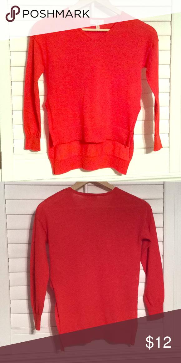 2c05c275cd GB GIRLS red sweater. High-low hem Size M Girls GB Girls from Dillard s