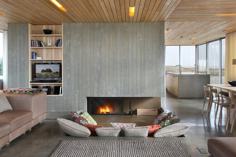 Die schönsten Design-Ferienhäuser Die Hafenanlage Groß Neuendorf - wohnzimmer modern renovieren
