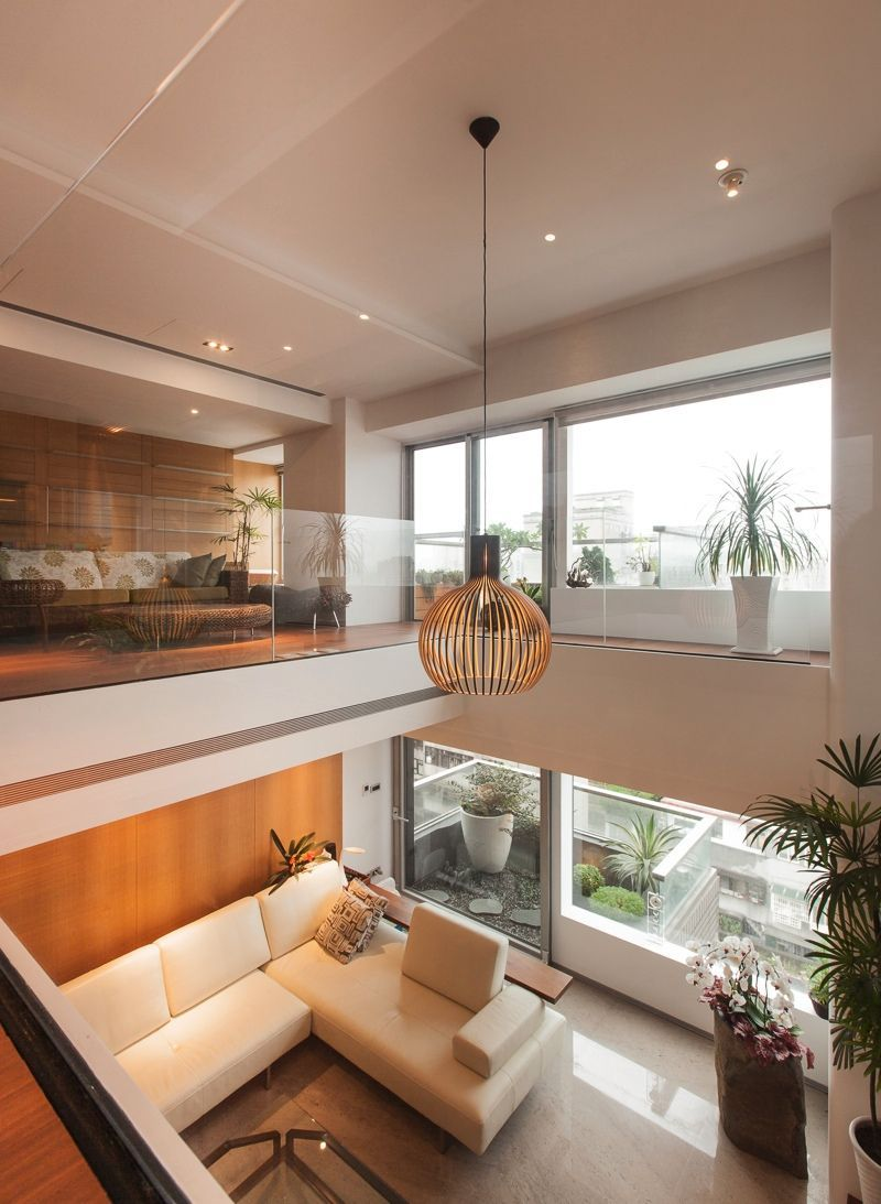 Modern Interior Design Ideas You Ll Love Www Delightfull Eu Modern Interior Design In 2020 High Ceiling Living Room Minimalist Living Room Modern Houses Interior