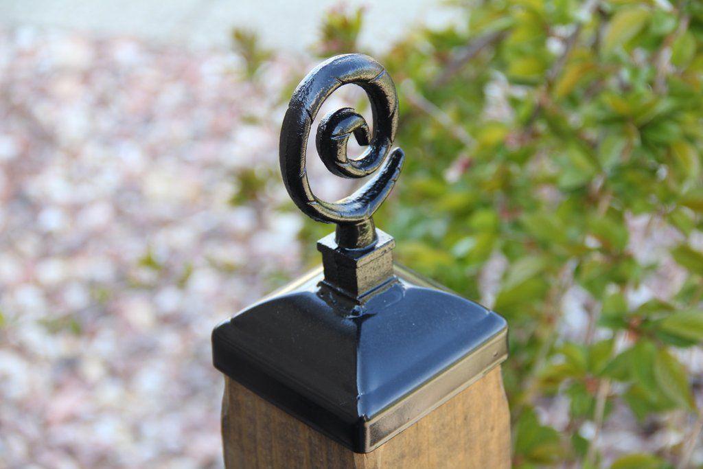 Best Spiral Post Cap 4X4 Build A Deck Fence Post Caps 640 x 480