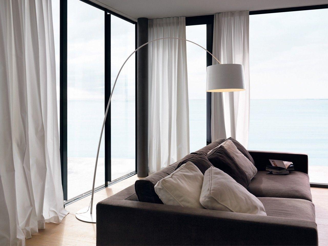 Lampade da terra ad arco | Casa al mare | Pinterest