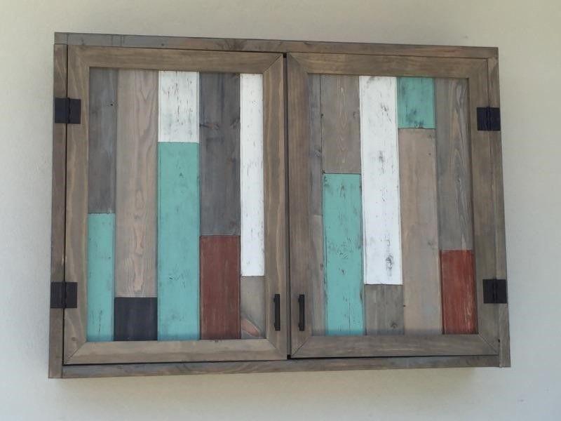 Outdoor TV Cabinet with Double Doors Building Plan | Home ...