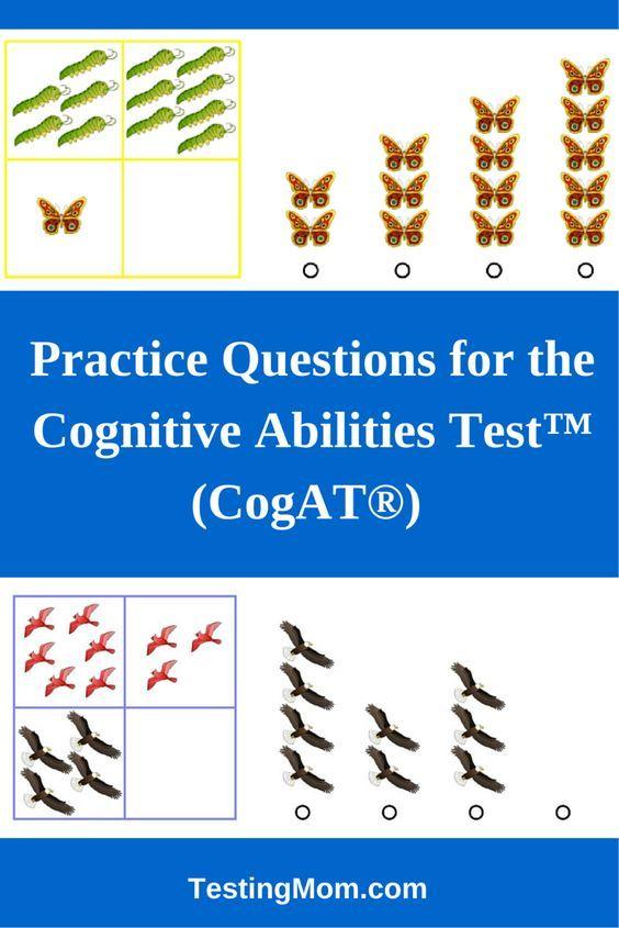 Cognitive Abilities Test Cogat Practice Test Questions For
