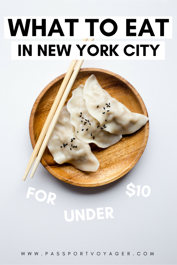 20 Cheap Places To Eat In New York City Foodie Travel Foodie Cities Foodie