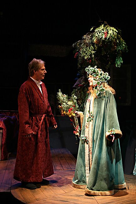 Patrick M Strain Scenery Lighting Design A Christmas Carol Christmas Present Costume Christmas Carol Ghost Of Christmas Present
