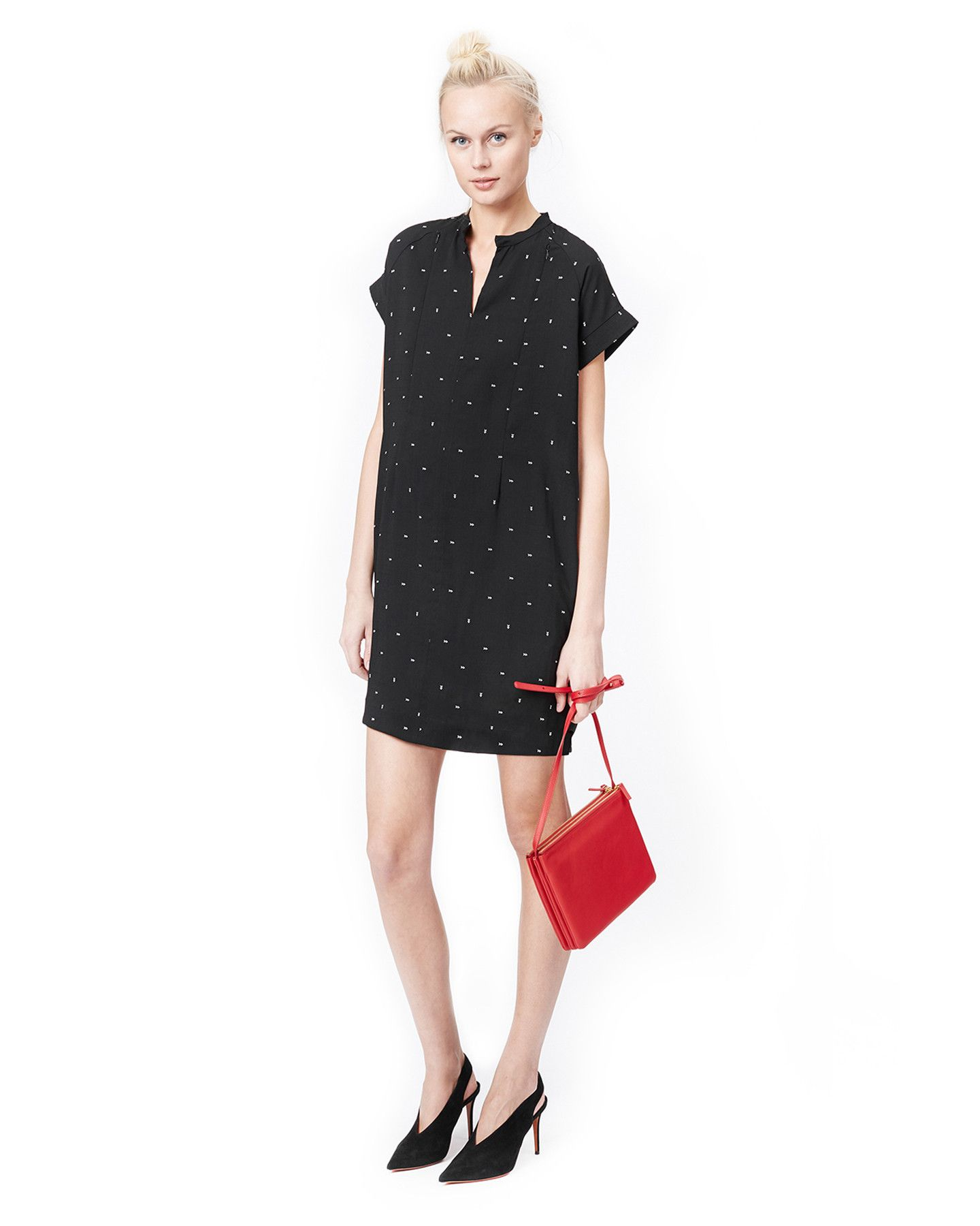 9cce0f84be95f Cybelle- black dart nursing & maternity dress | Our Collection ...