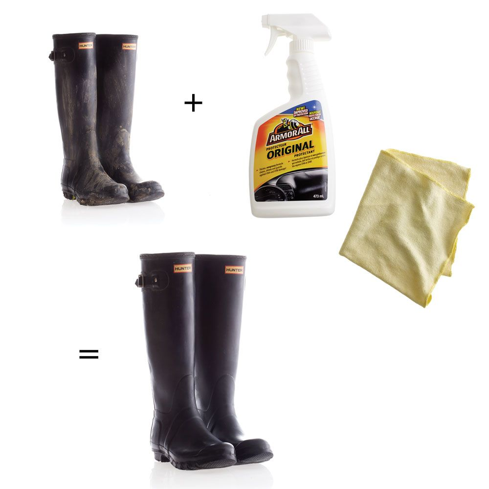 How To Clean And Protect Your Rubber Boots Make Dirty Soiled Wellies Look New Again With Our Two Minute Trick