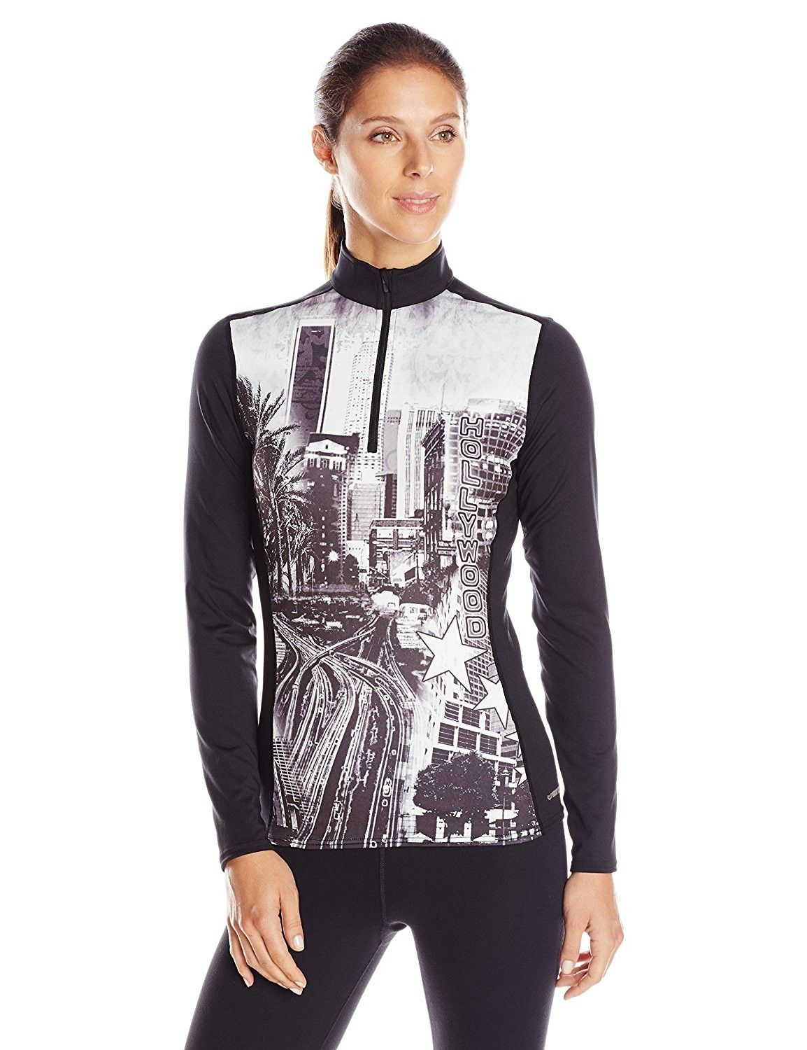 Women's Clothing, Active, Active Base Layers, Women's MEC Sub Print Zip  T-Neck Base Layer Top - Hollyw… | Women clothes sale, Clothes for women, Base  layer clothing