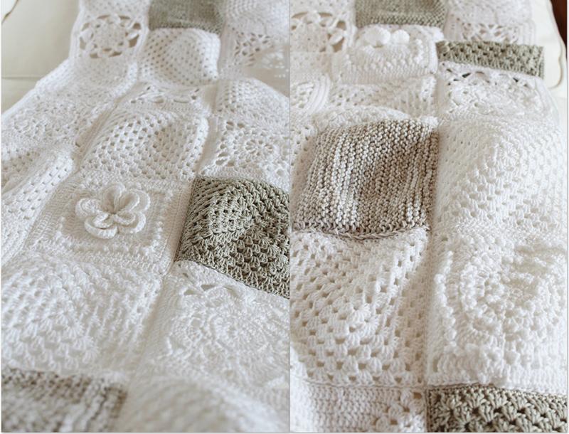 fragola-diamond: Come splendidamente ... granny square cotton ...