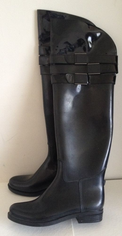 8d5e3025417e Details about Calvin Klein Priya Over the Knee Boots, Black 133 ...