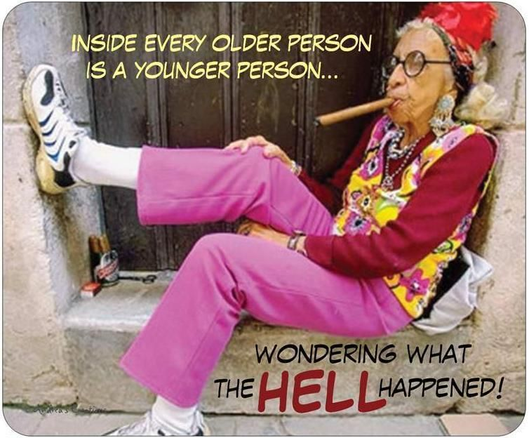 Happy Birthday Quotes Young Lady ~ Funny birthday cards funny birthday card old woman smoking cigar