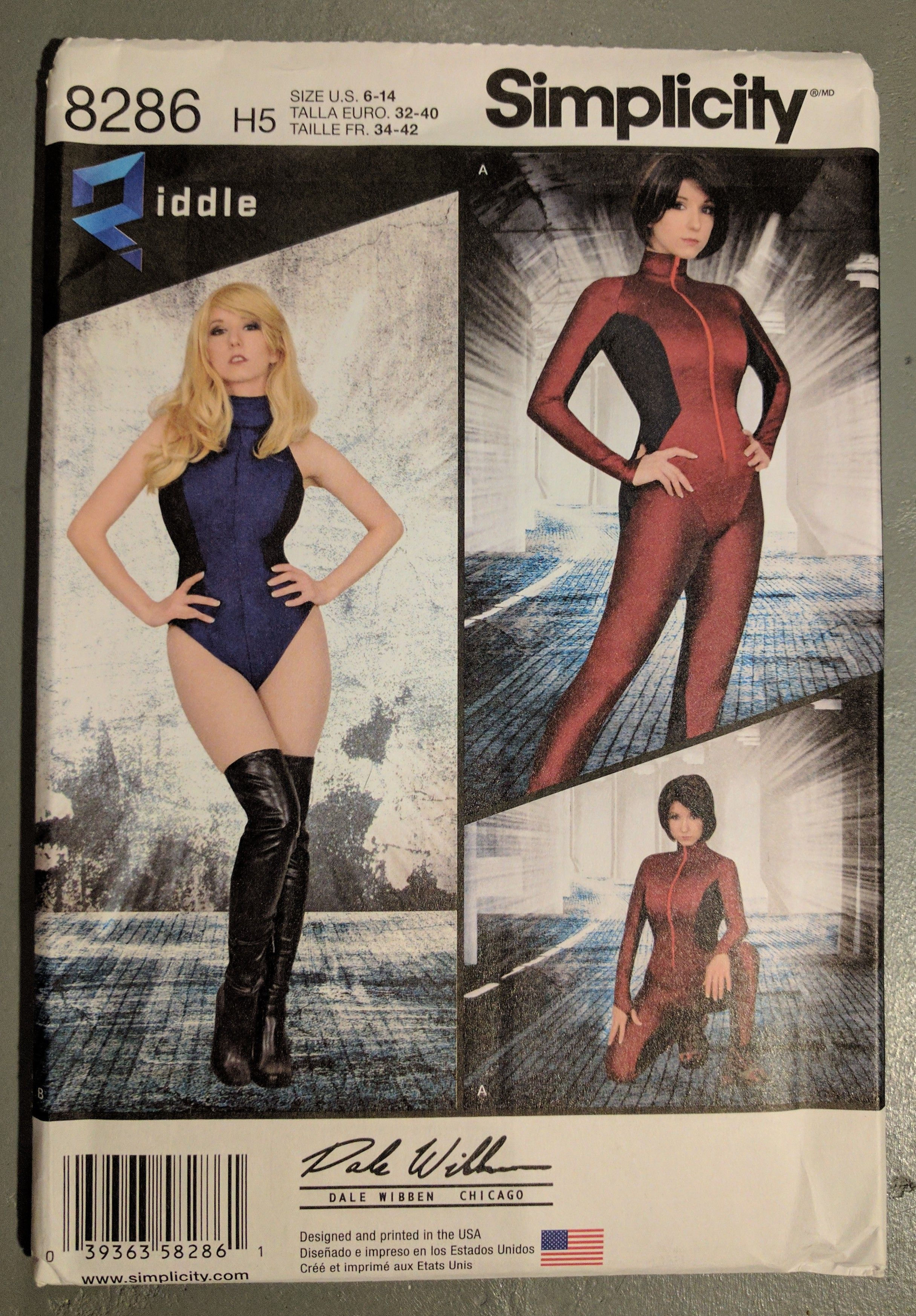 Simplicity Ladies Sewing Pattern 8286 Knit /& Woven Jumpsuit /& Leotard...