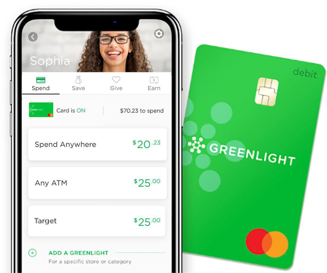 Greenlight the debit card for kids kids money debit