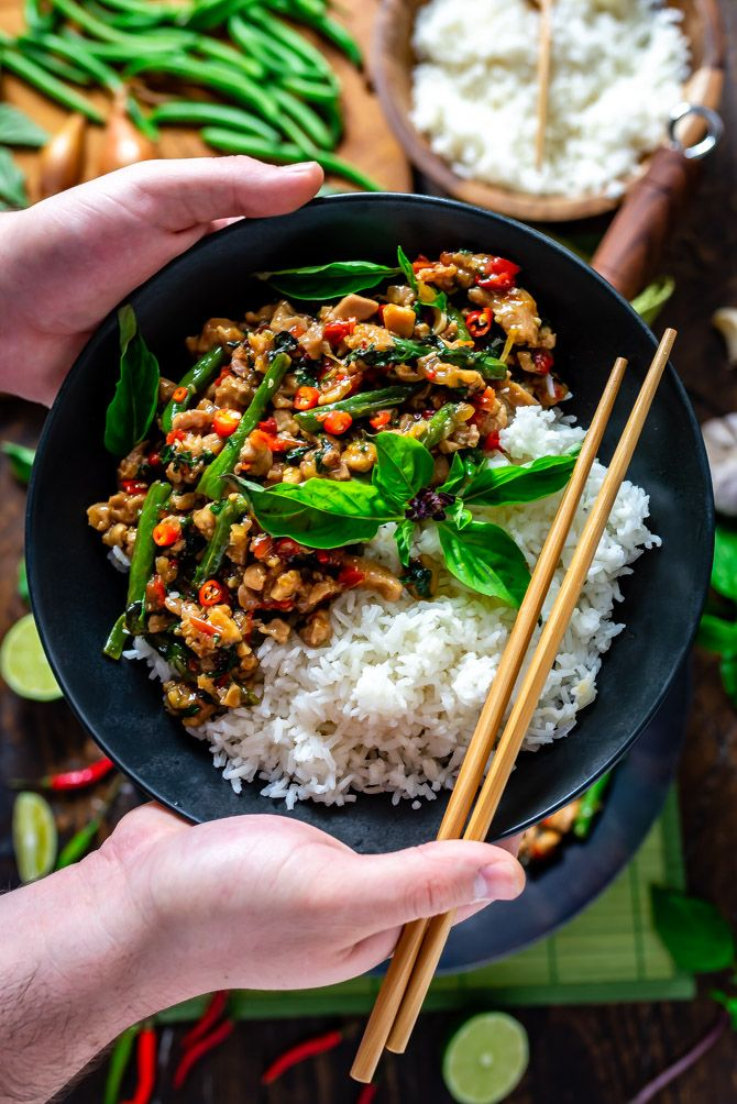 15 Minute Thai Basil Chicken images