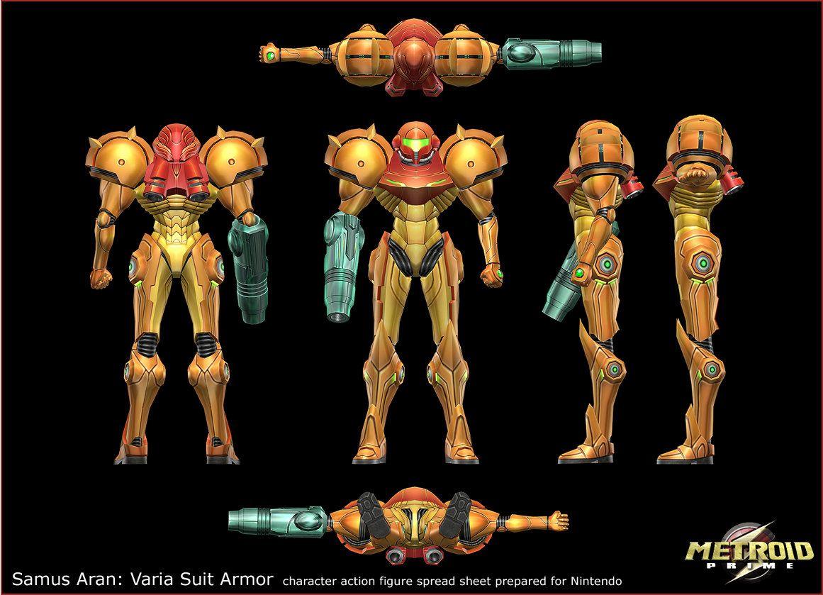 Artstation Metroid Prime Samus Aran S Varia Suit