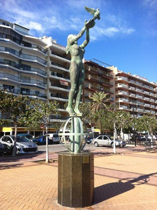 Homenaje al turista, Fuengirola.