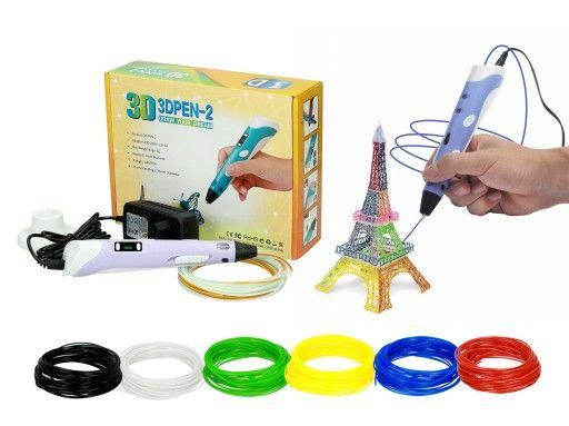 Drukarka 3d Dlugopis 3d Pen 2 Gratis Wklady 6942811299 Oficjalne Archiwum Allegro 3d Pen Pen Gratis