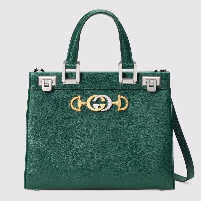 Photo of Gucci GG Women Gucci Zumi Grainy Leather Small Top Handle Bag