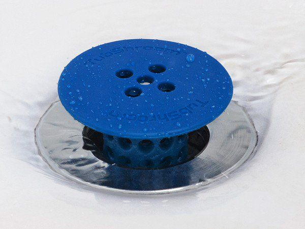 This Drain Hair Catcher Discovered By The Grommet Is A Silicone