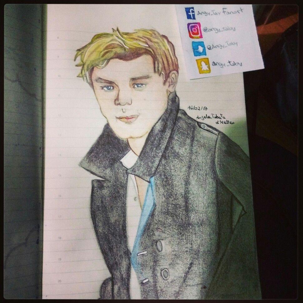 Jeremy Irvine alias Daniel Grigori.  #fallenmovie #drawing #portrait #illustration #jeremyirvine