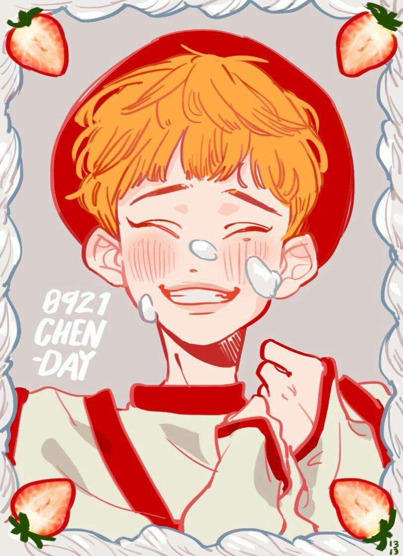 Pin by Ophelia on Emilia Exo fan art, Exo art, Cute art