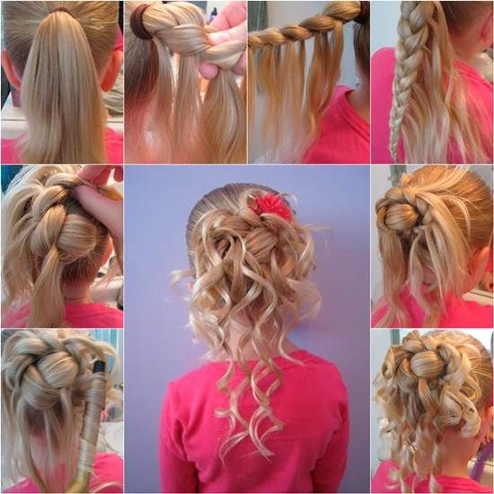 How To Make Cute Hairstyle For Girls Diy Tutorial Icreativeideas Com Like Us On Facebook Coiffure Fillette Mariage Coiffure Princesse Coiffure Mariage Enfant