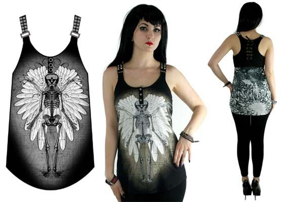 Fargo Tank  by Too Fast Clothing- Dual