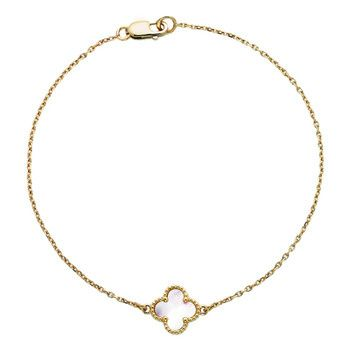van cleef and arpels alhambra clover, butterfly and heart bracelets... 1 for each girl and 1 for J :)