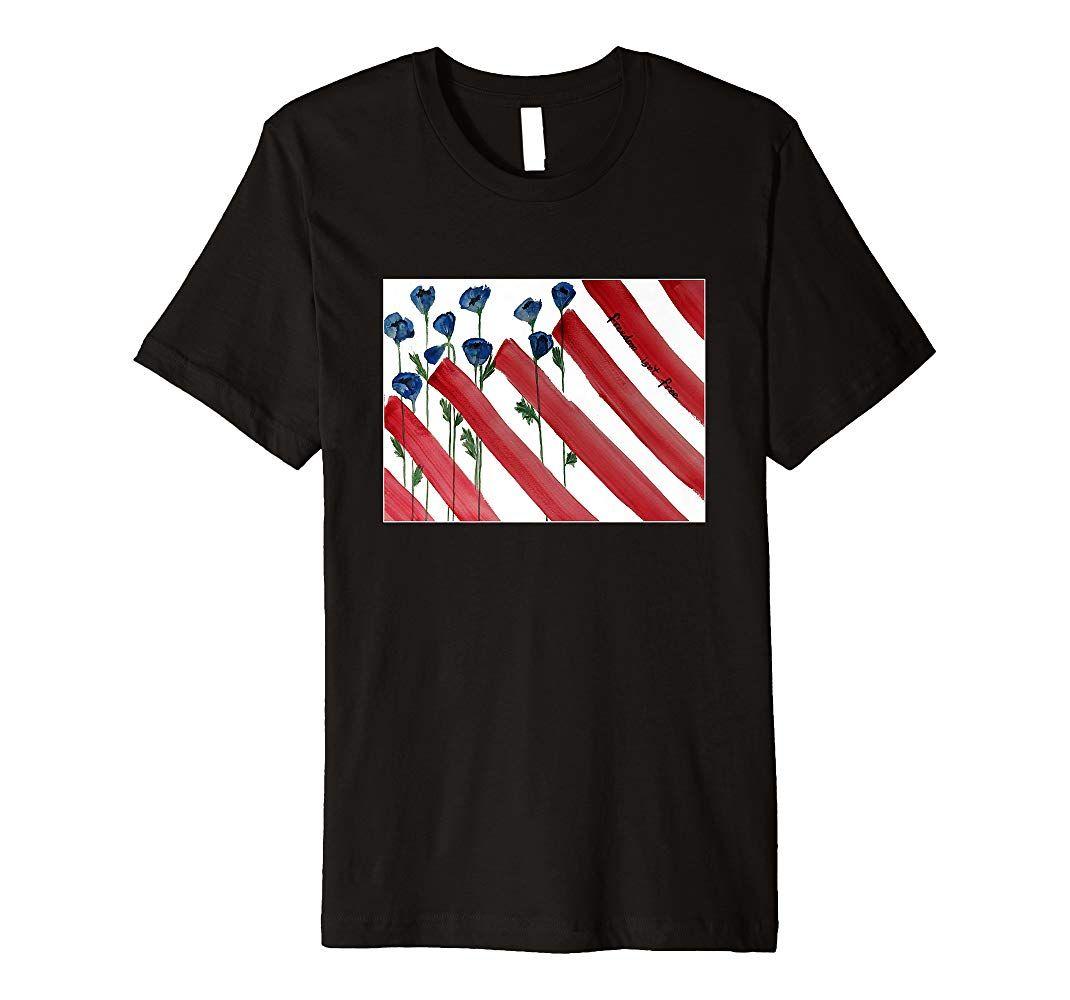 American flag freedom isnt free premium t