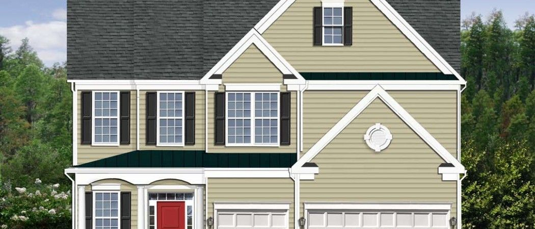 The Buckingham offers large home features in a narrow lot footprint